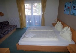 Double Bedroom width Extra Bed Apartment Hotel Seerose