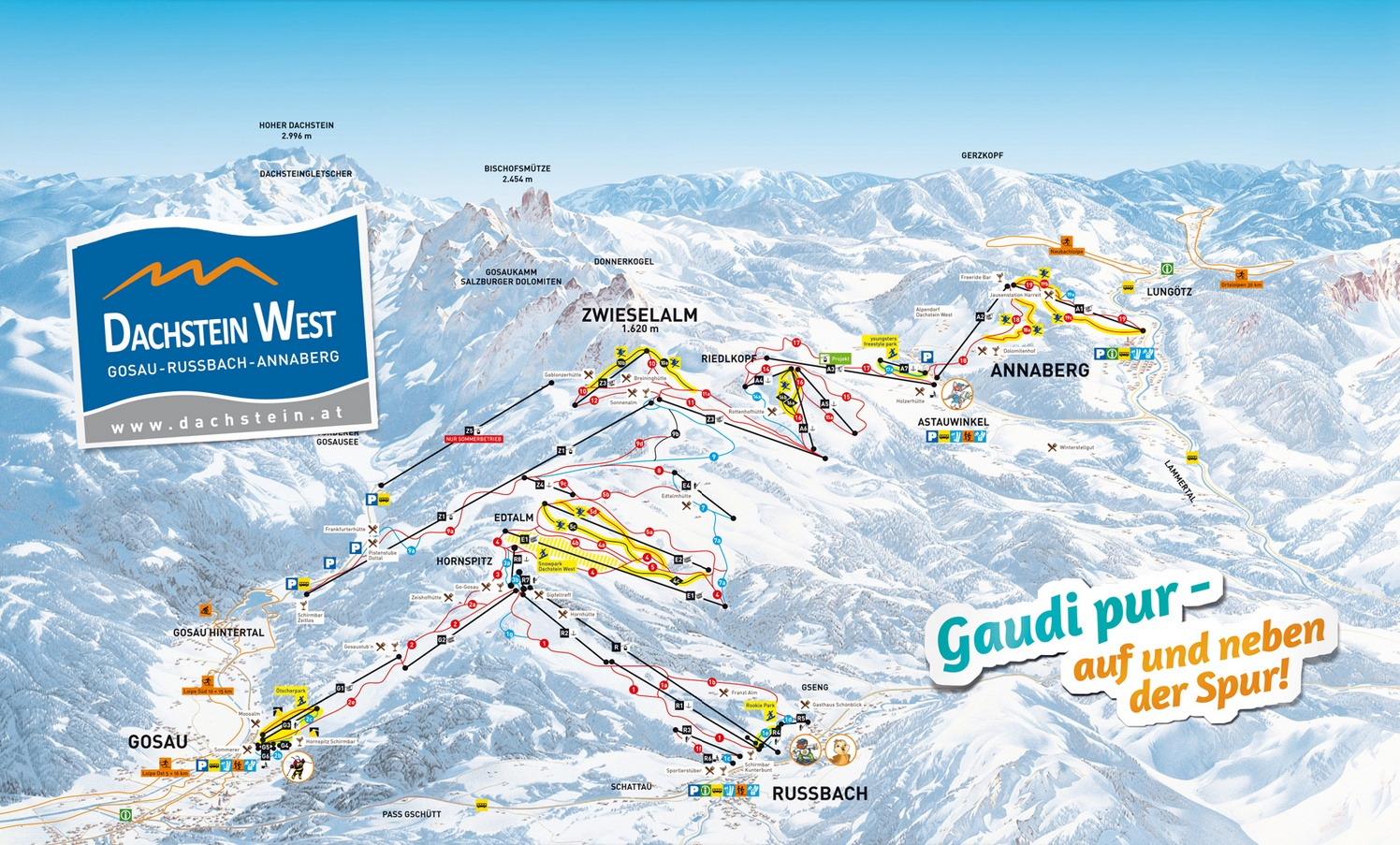 Ski resort Gosau - Dachstein West